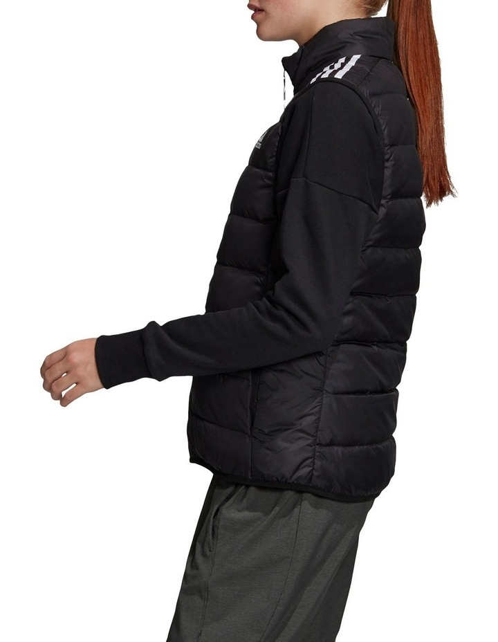 Essentials Down Black Puffer Vest image 3