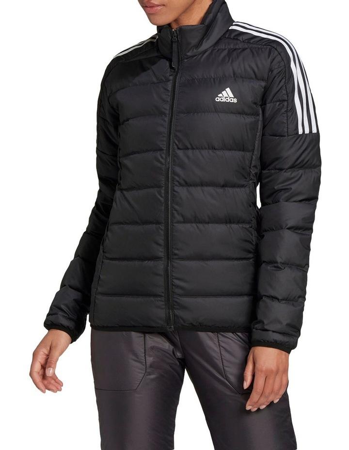 Essentials Down Black Puffer Jacket image 1