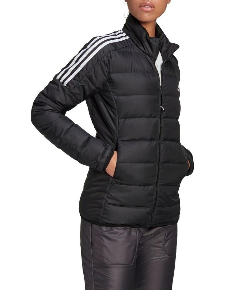 Essentials Down Black Puffer Jacket image 3