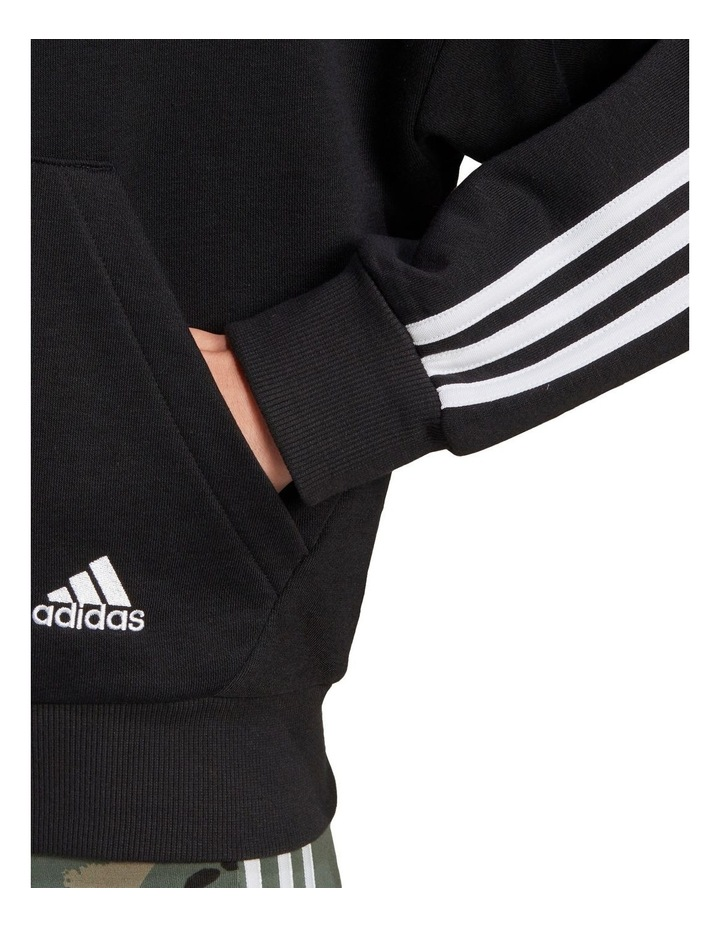 3 Stripe French Terry Full Zip Hoodie GL1462 image 3