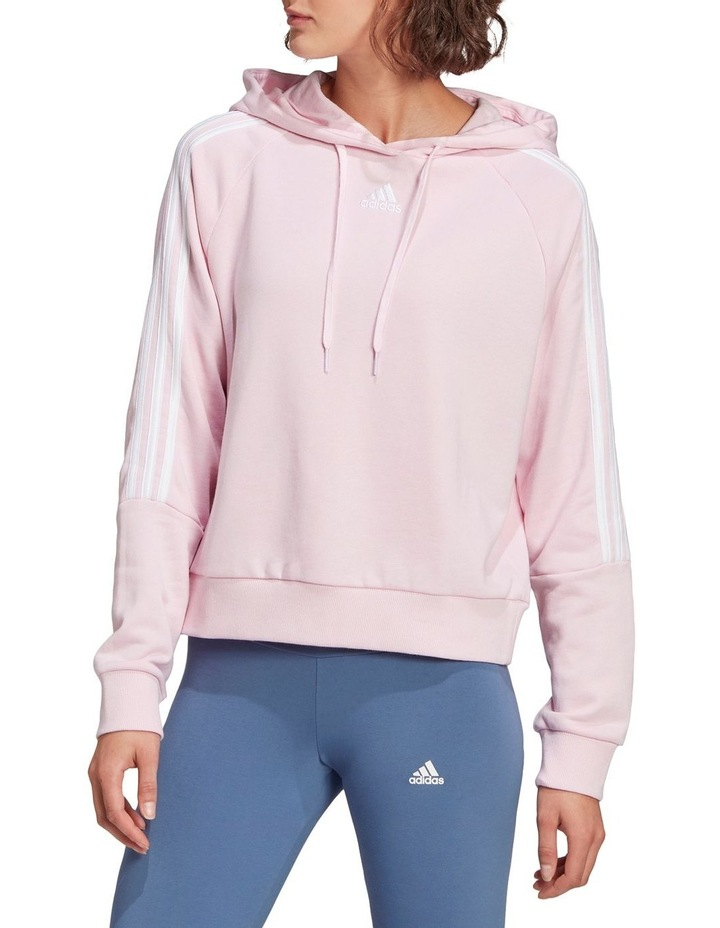 3 Stripe French Terry Hoodie GL1459 image 1