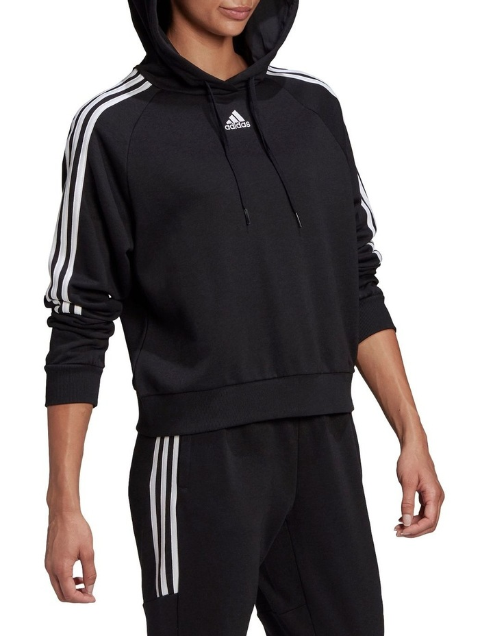 3 Stripe French Terry Hoodie GL1460 image 3