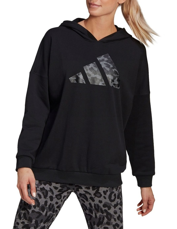 Oversized French Terry Hoodie GP7352 image 1