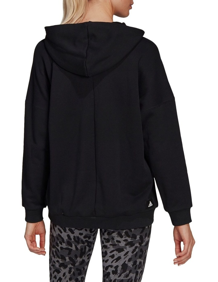 Oversized French Terry Hoodie GP7352 image 2