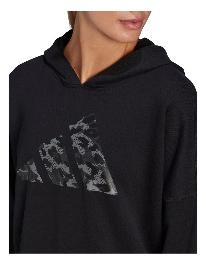 Oversized French Terry Hoodie GP7352 image 4