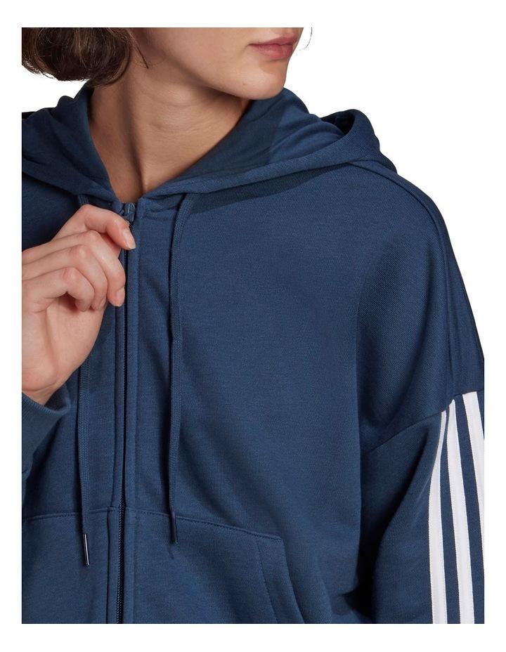 3 Stripe French Terry Full Zip Hoodie GL1463 image 3