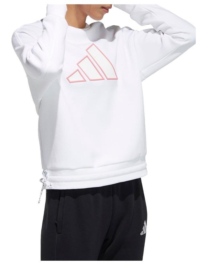 Doubleknit Logo Sweatshirt GP0719 image 3