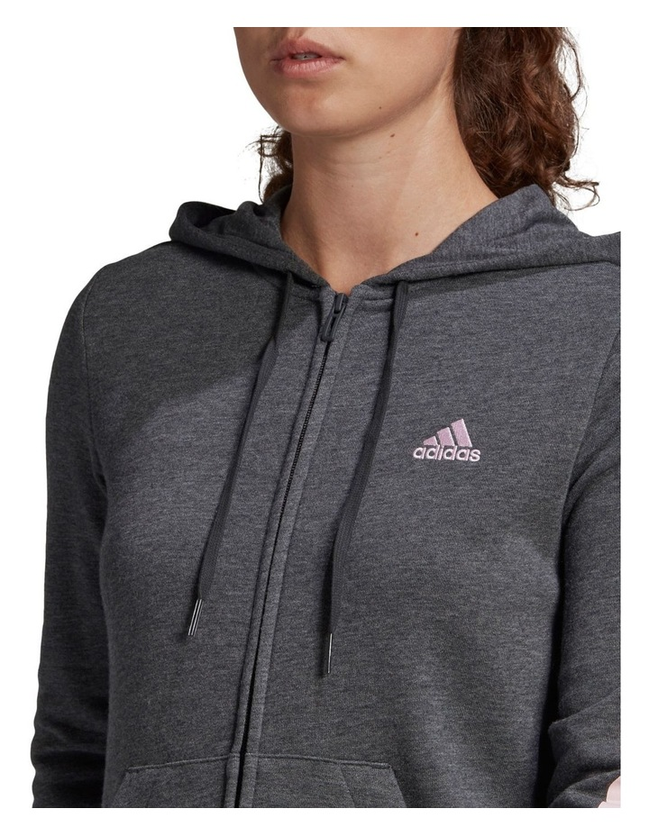 Linear French Terry Full Zip Hoodie GL0793 image 4