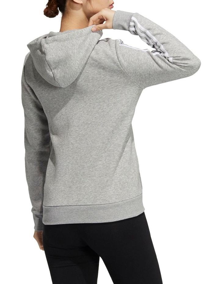 3 Stripe Fleece Full Zip Hoodie GV6021 image 2