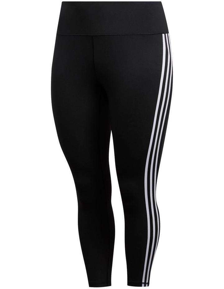 Adidas Believe This 2.0 3 Stripe 7/8 Tight Plus FJ7149 image 1