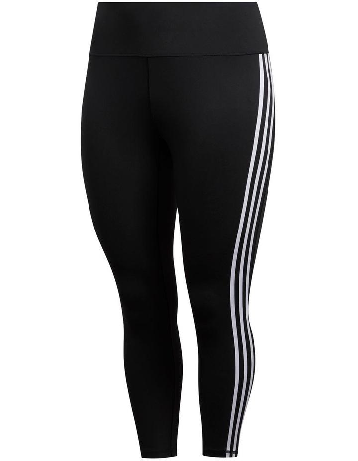Adidas Believe This 2.0 3 Stripe 7/8 Tight Plus FJ7149 image 2