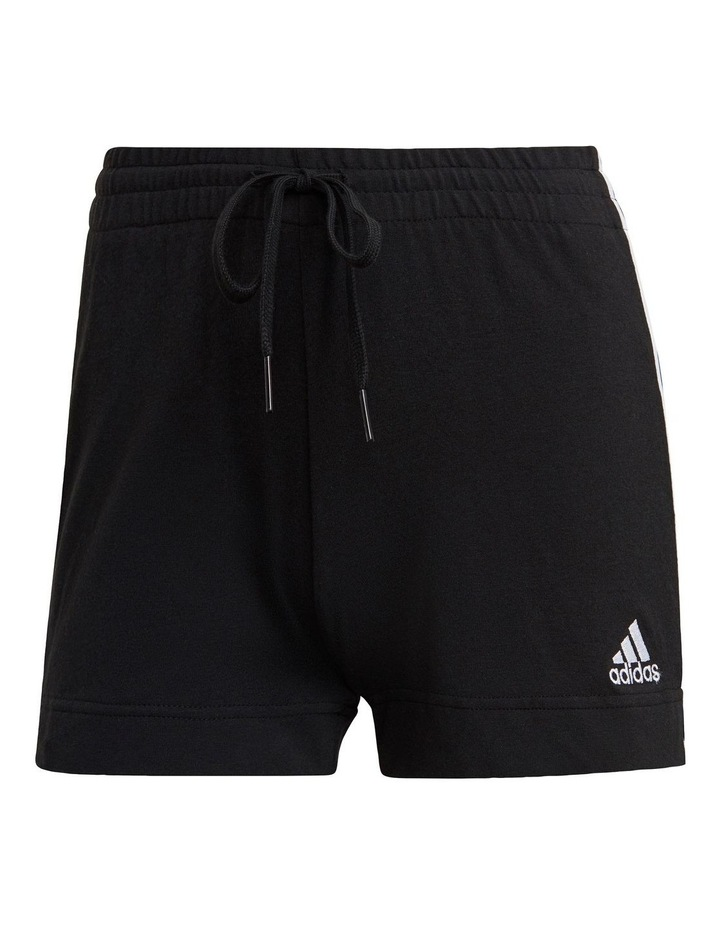 Adidas Essentials 3 Stripe Jersey Slim Short GM5523 image 1