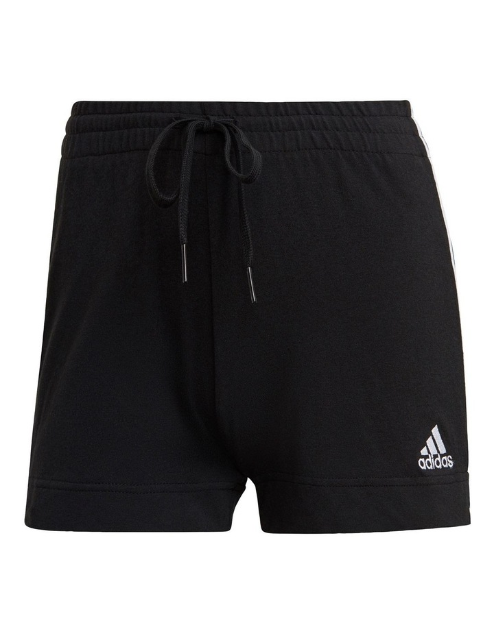Adidas Essentials 3 Stripe Jersey Slim Short GM5523 image 2