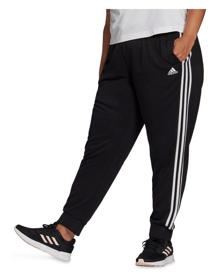 3 Stripe French Terry Pant Plus GL1377 image 1