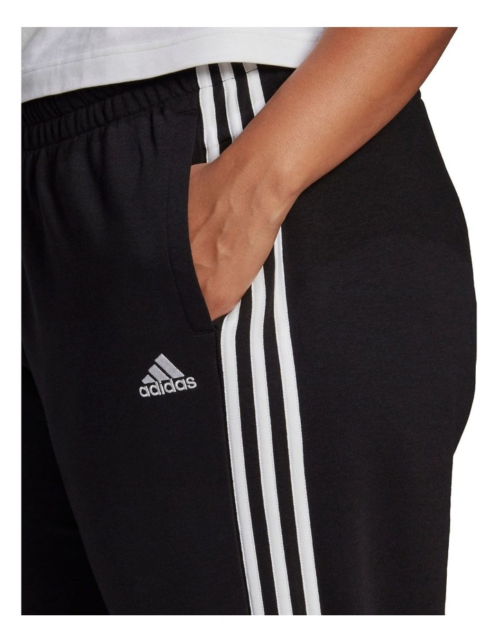 3 Stripe French Terry Pant Plus GL1377 image 3