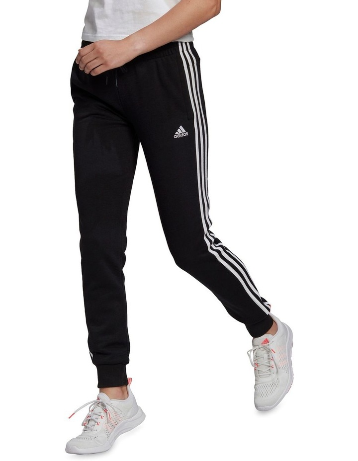 3 Stripe French Terry Cuffed Pant GM8733 image 1