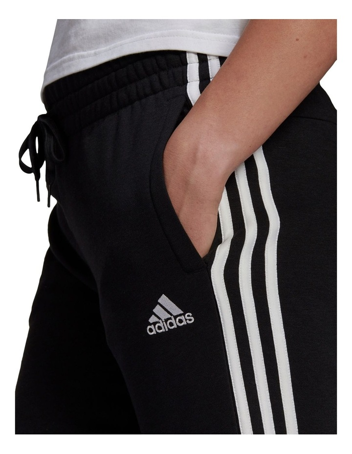 3 Stripe French Terry Cuffed Pant GM8733 image 3