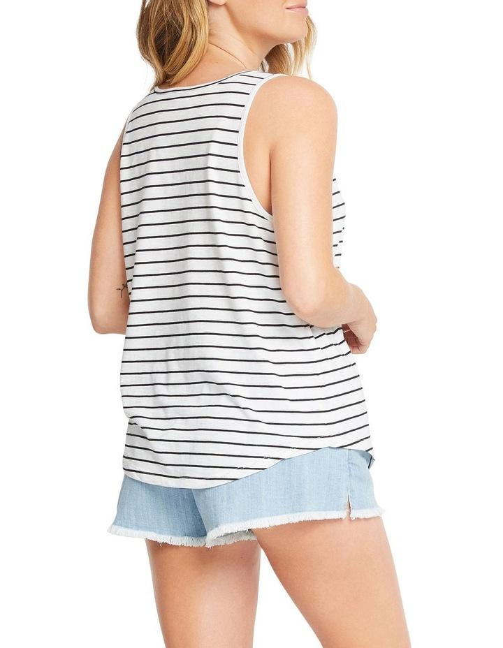 Essentials Stripe Lady Tank CXDWI image 2