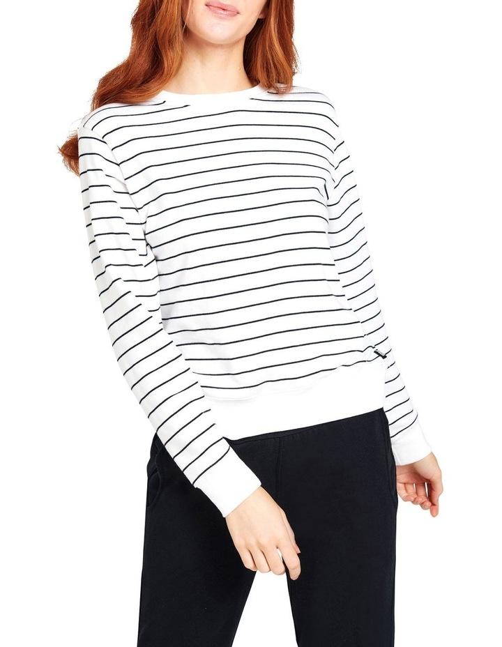 Essentials Stripe Pullover CUA8I image 1