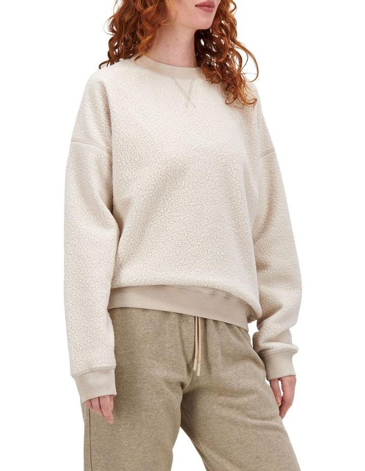 Essentials Polar Sand By Me Ftq Fleece Pullover image 3
