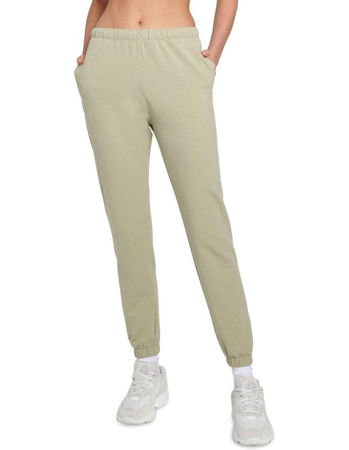Original Stretch Light Khaki Tapered Pants image 1