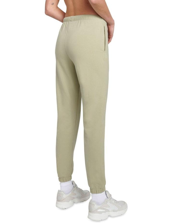 Original Stretch Light Khaki Tapered Pants image 2