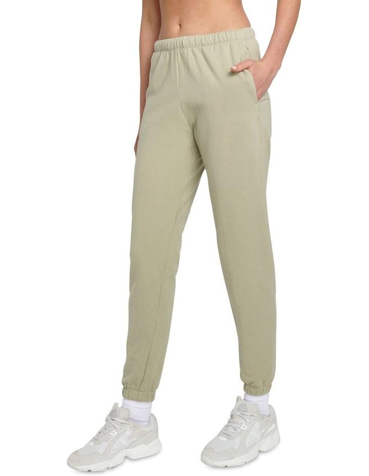 Original Stretch Light Khaki Tapered Pants image 3