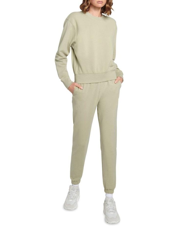 Original Stretch Light Khaki Tapered Pants image 4