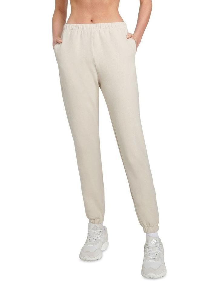 Original Stretch Ecru Tapered Pants image 1