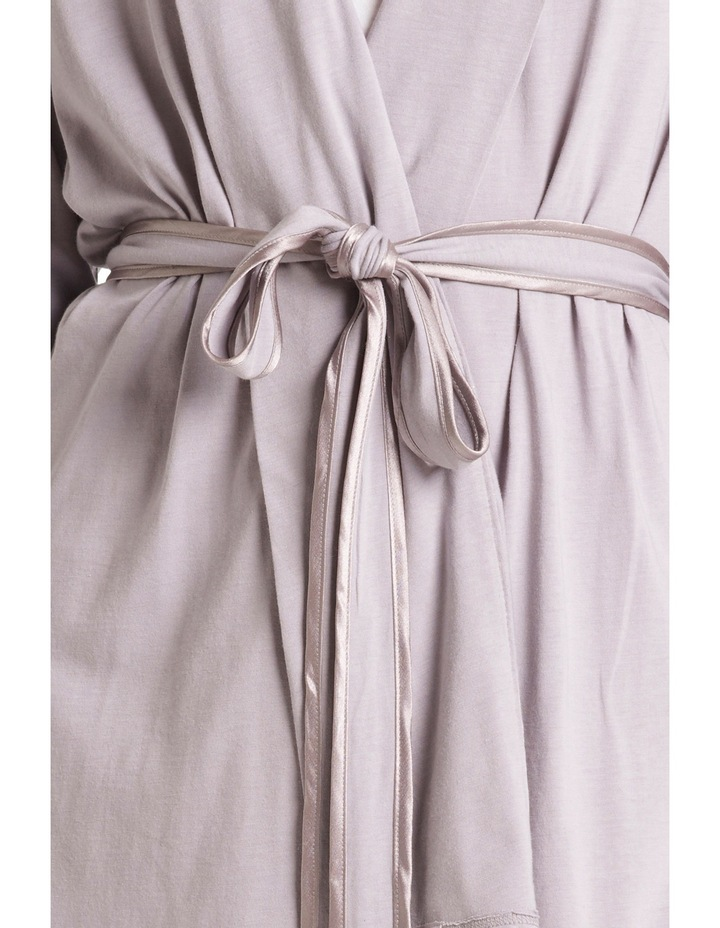 'Bamboo Cotton' Robe LEVMSLRB image 3