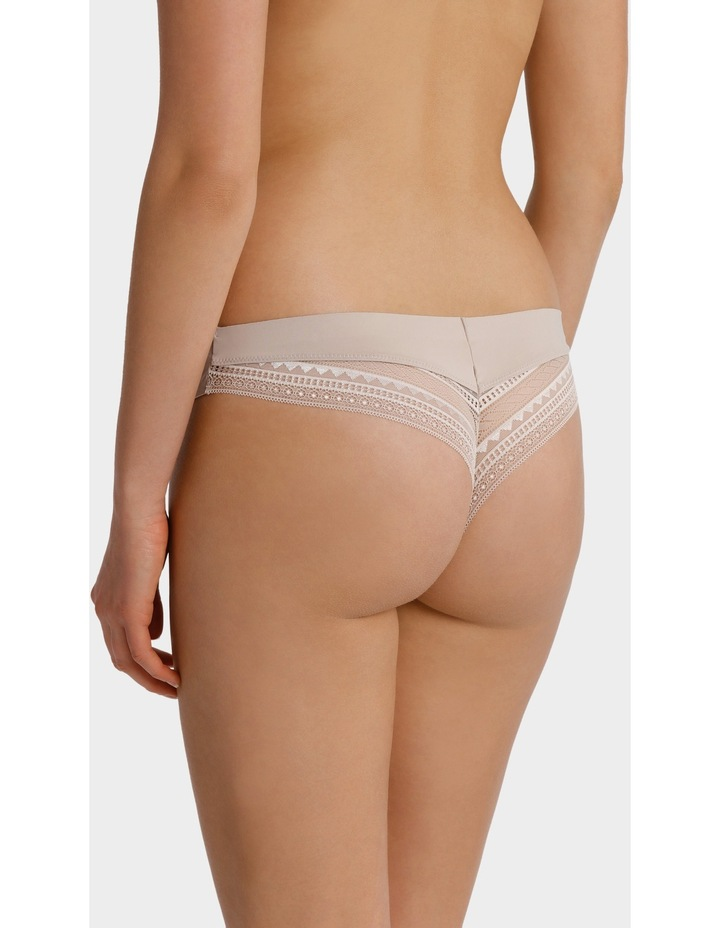 Bonded Micro & Lace G-String USOS18051 image 2