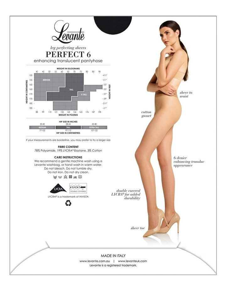 'Perfect 6' Pantyhose  LEVPER6PH image 3