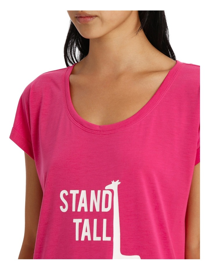 Stand Tall Oversized Tee SMSS18056 image 3