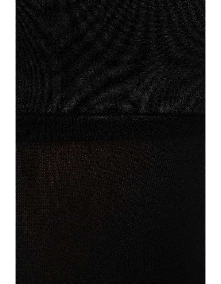 128e4979a No Show Opaque Stay Up Black Tights NOSSUO image 2