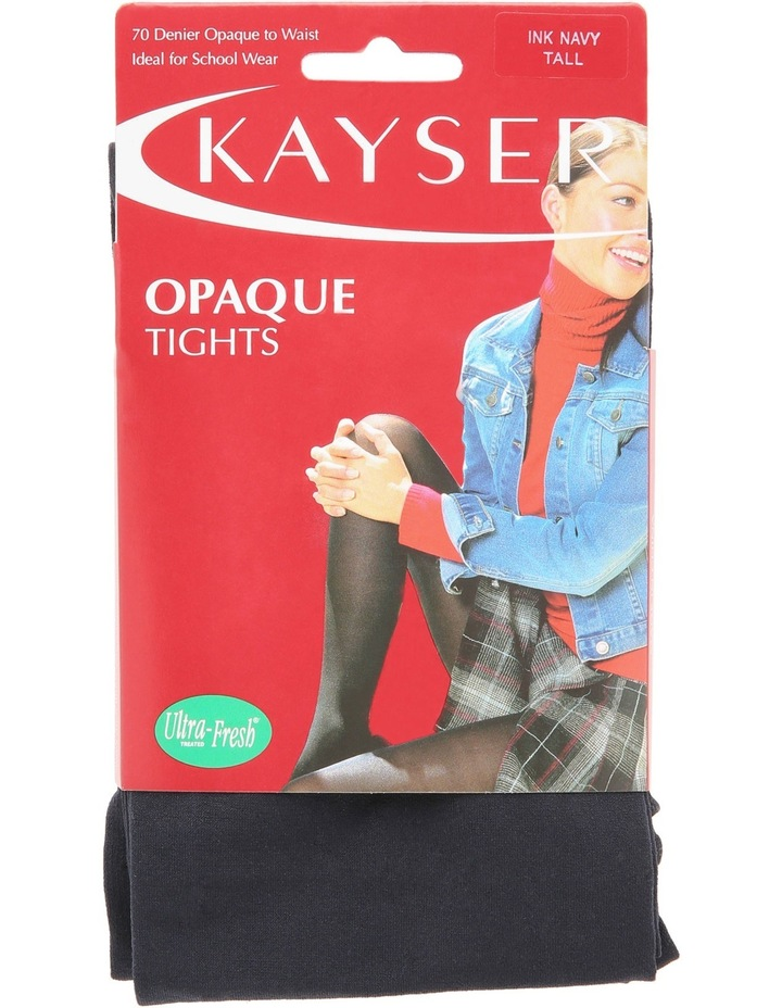 70D Opaque Tight Navy H10350 image 3