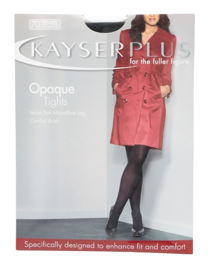 Plus Size Opaque Tights K10866 image 3