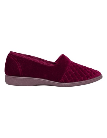 Grosby Marcy Wine Slipper d065bf17e