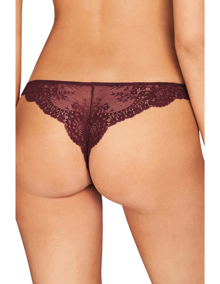 Stella Smooth & Lace thong S37-250 image 2