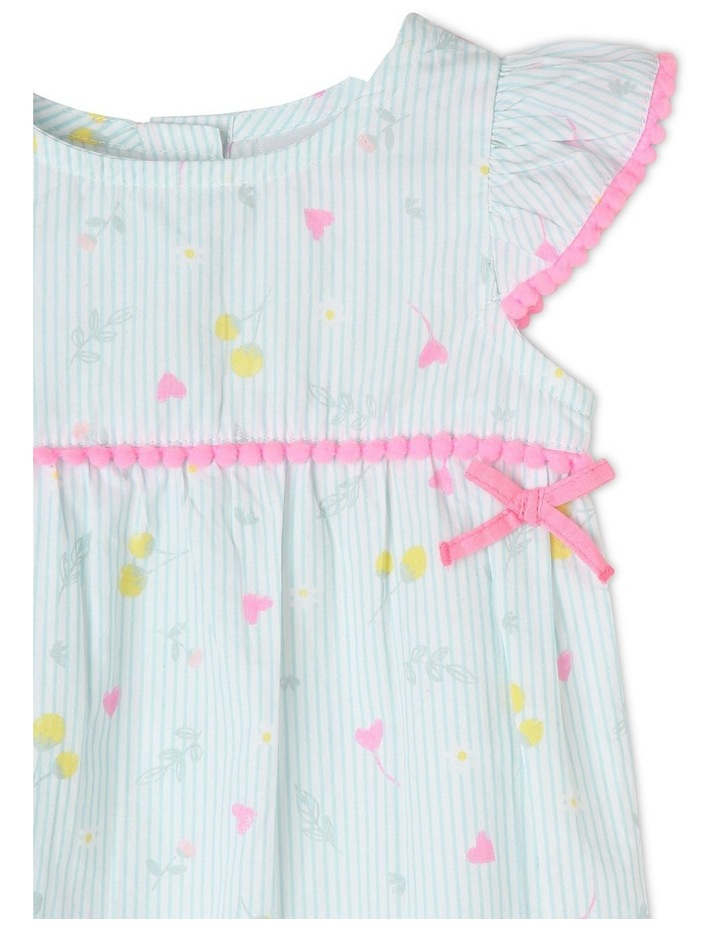 Woven Romper With Bows image 2
