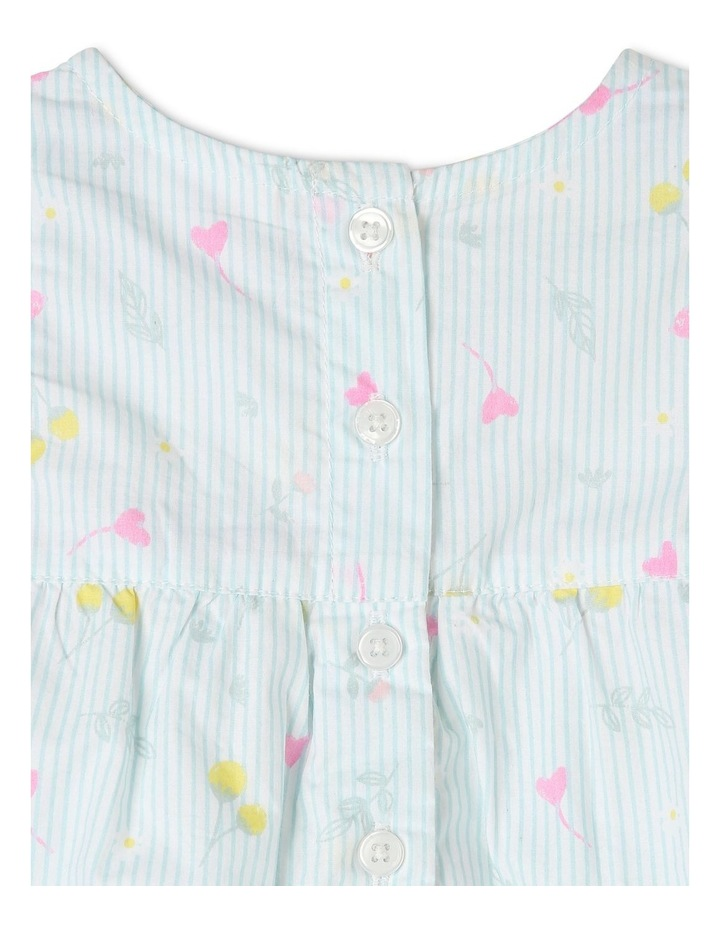 Woven Romper With Bows image 4