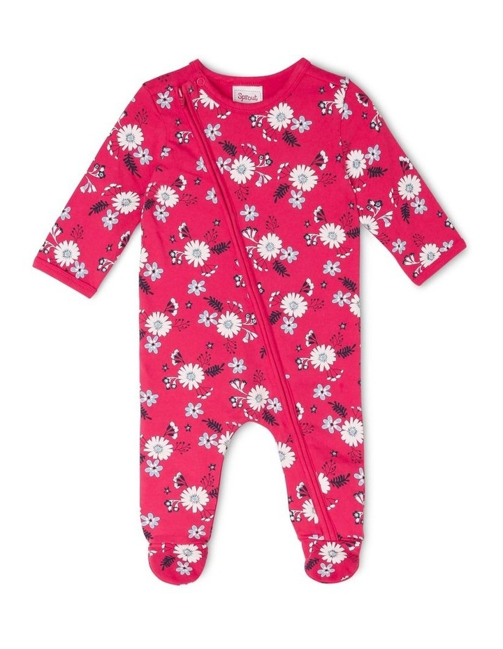 Essential Coverall - Raspberry image 1
