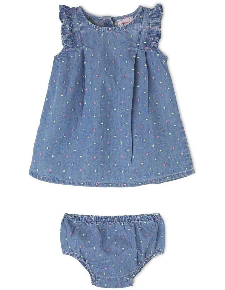Embellished Polka Dot Dress image 1