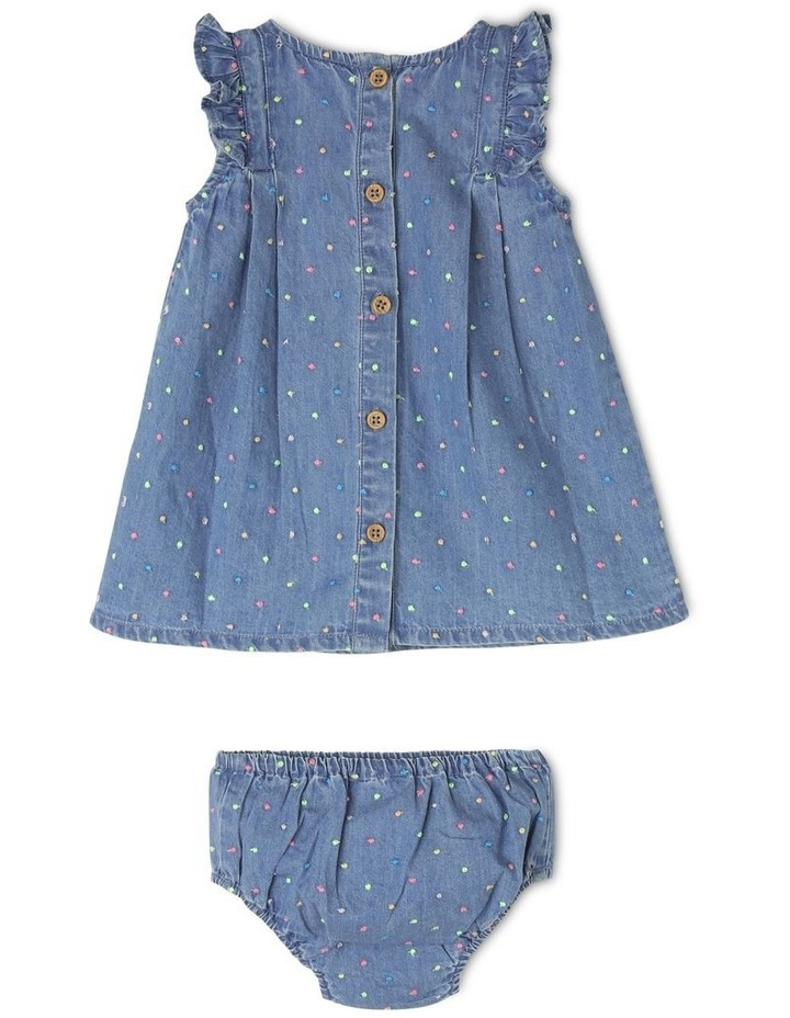 Embellished Polka Dot Dress image 2