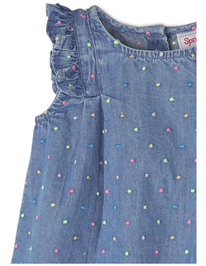 Embellished Polka Dot Dress image 3