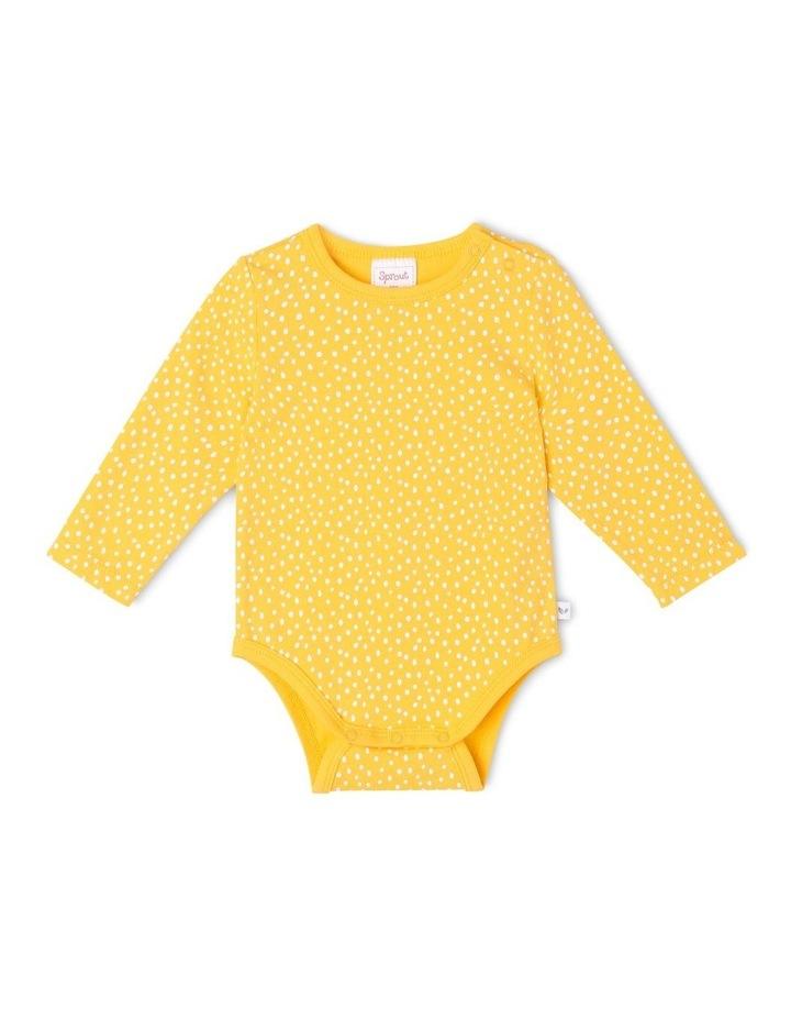Essential Mustard Bodysuit image 1