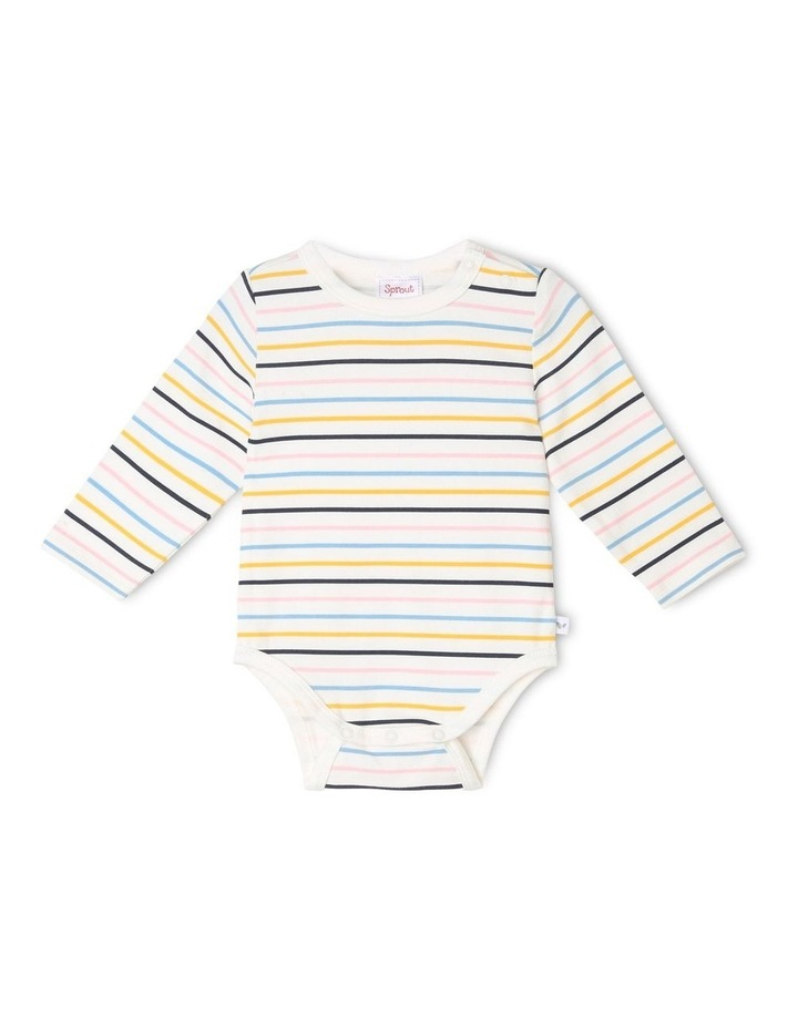 Girls Essential Rainbow Bodysuit image 1
