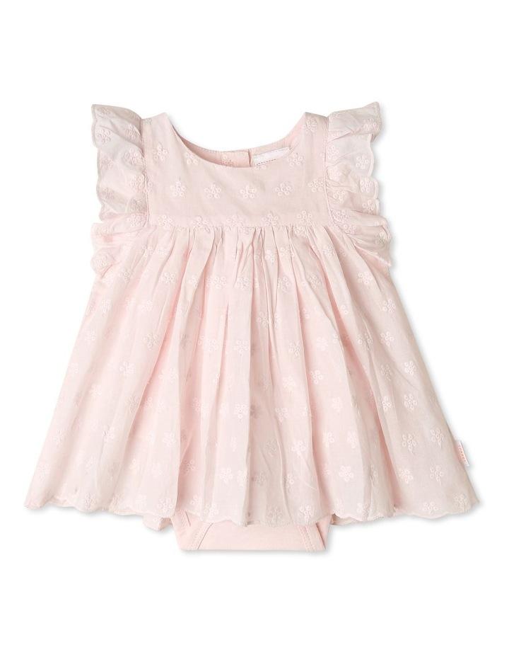 Woven Broderie Dress Bodysuit image 1