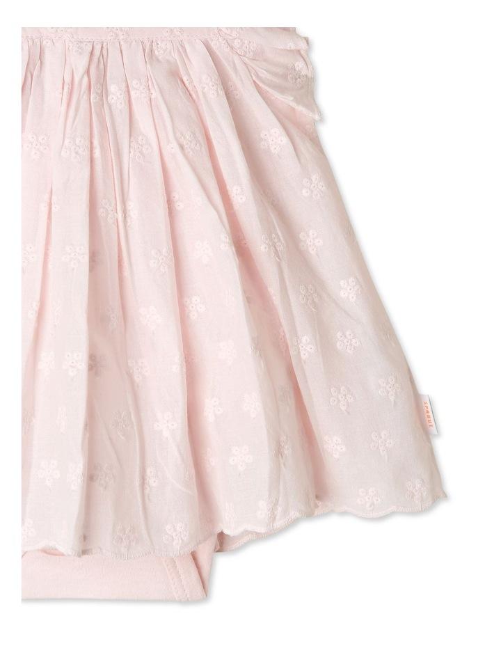 Woven Broderie Dress Bodysuit image 3