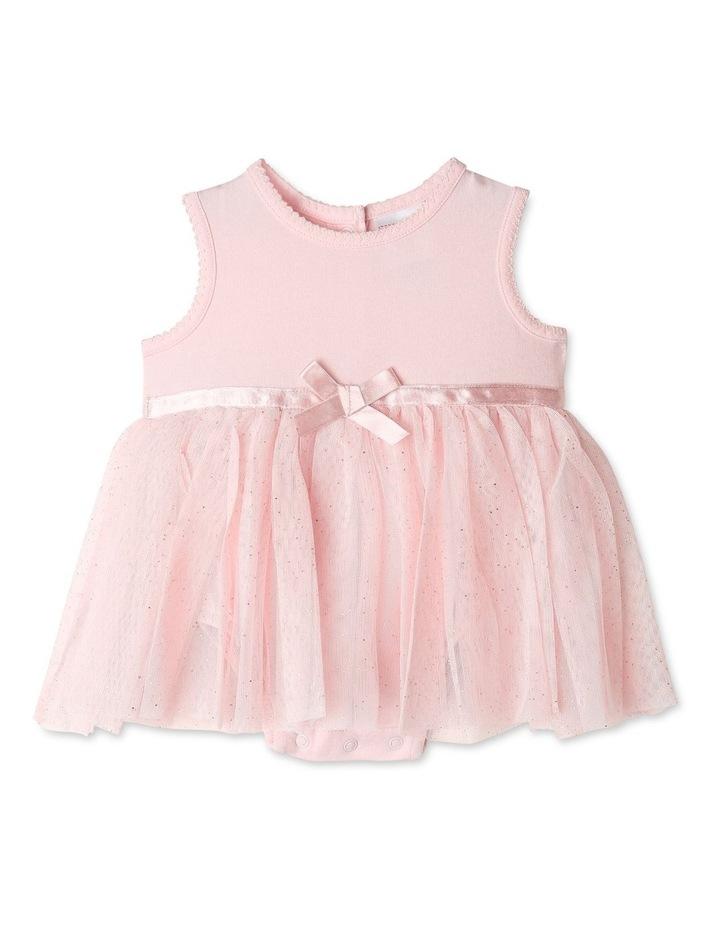 Princess Bow Tulle Dress Bodysuit image 1
