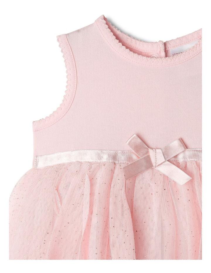 Princess Bow Tulle Dress Bodysuit image 2